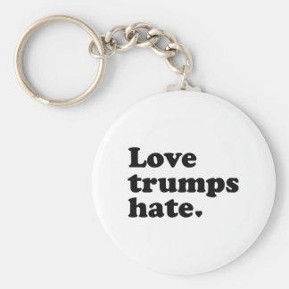 Porte-clés Haine d'atouts d'amour