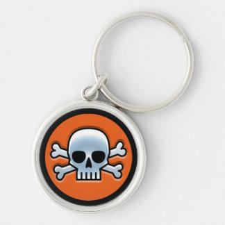 Porte-clés Halloween 'Roger gai