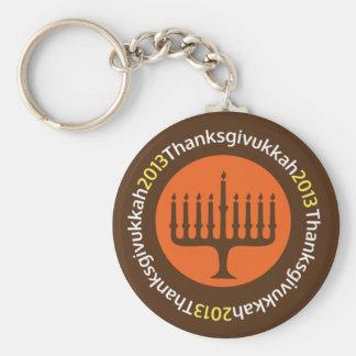 Porte-clés Hanoukka/porte - clé de Thanksgivukkah
