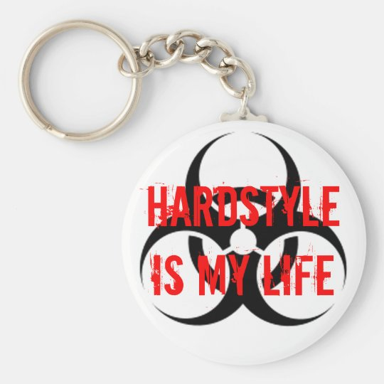 Porte-clés HARDSTYLE is my life