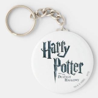 Porte-clés Harry Potter et le de mort sanctifie le logo 3