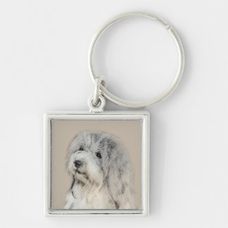 Porte-clés Havanese (sable d'or)