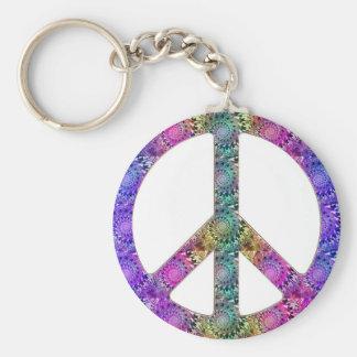 Porte-clés Hendrix sur la paix