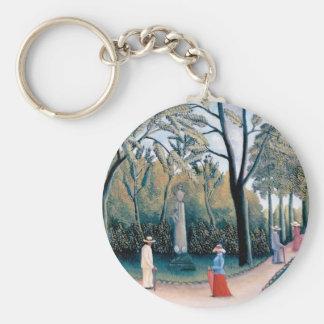 Porte-clés Henri Rousseau - les jardins du luxembourgeois