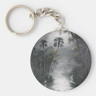 Porte-clés Héron brumeux de rivière de la Floride
