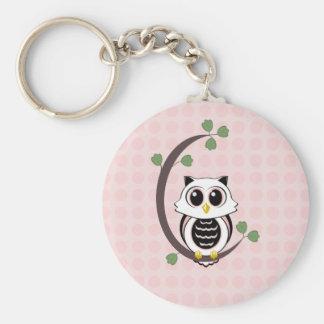 Porte-clés Hibou et porte - clé mignons de pois