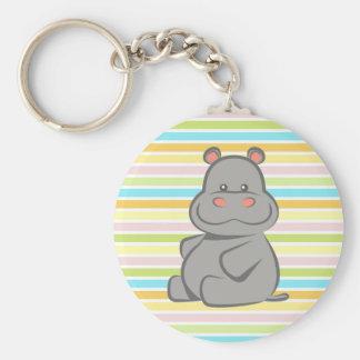 Porte-clés Hippopotame de bébé