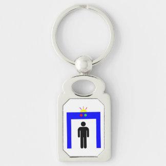 Porte-clés homme de bâton d'alarme de sécurité de détecteur