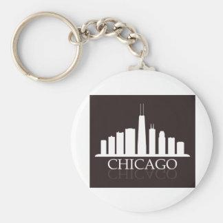 Porte-clés horizon de Chicago