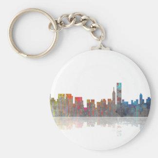 Porte-clés Horizon de Chicago Illinios