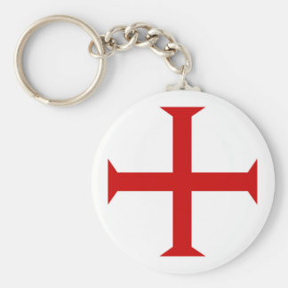 Porte-clés hospitall teutonic templar de Malte de Croix-Rouge