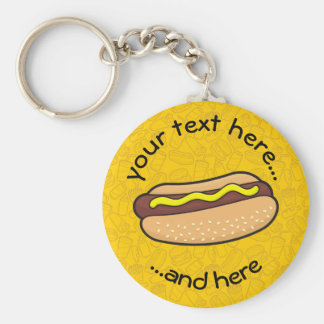 Porte-clés Hot dog