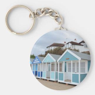 Porte-clés Huttes de plage chez Southwold