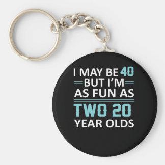 Porte-clés I ans en mai 40 mais comme amusement en tant que