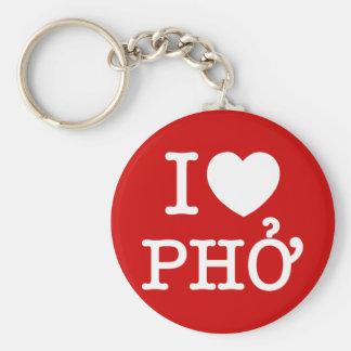 Porte-clés I coeur (amour) Pho