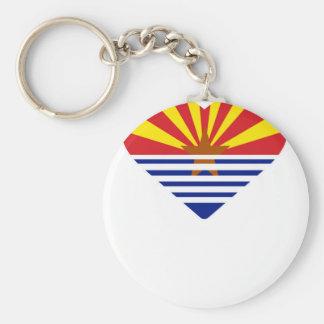 Porte-clés I coeur Arizona