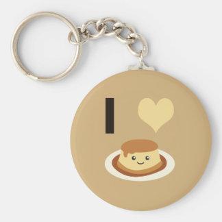 Porte-clés I flan de coeur (amour) !