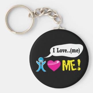 Porte-clés I love me keychain