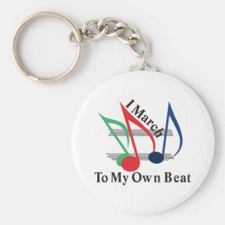Porte-clés I mars à mes propres battement