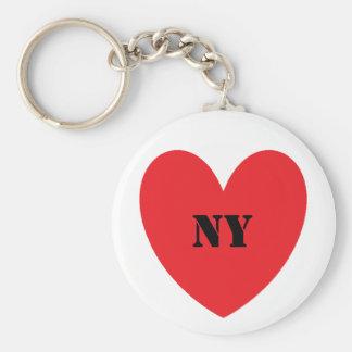 Porte-clés I porte - clé de New York de coeur