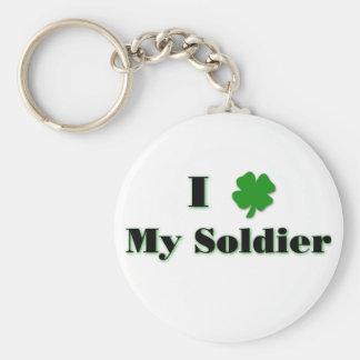 Porte-clés I (trèfle) mon porte - clé de soldat