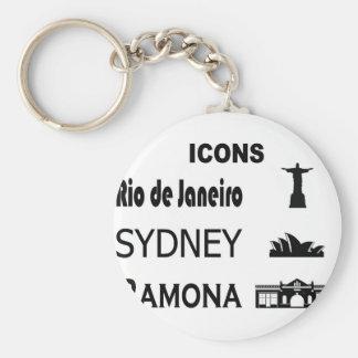 Porte-clés Icône-Rio-Sidney