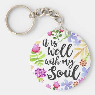 Porte-clés Il est bien avec mon porte - clé d'âme