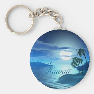 Porte-clés île crique-Hawaï