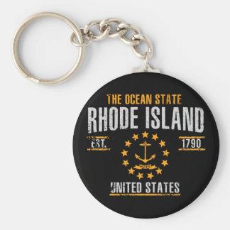 Porte-clés Île de Rhode