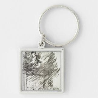 Porte-clés Illustration de Manet | pour 'le Raven