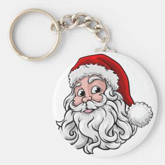 Porte-clés Illustration de Noël du père noël