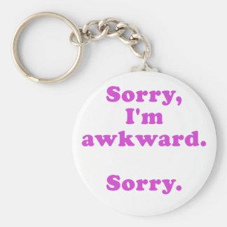 Porte-clés Im désolé désolé maladroit