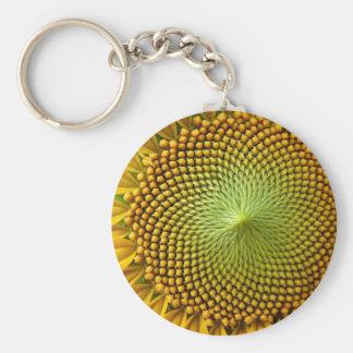 Porte-clés Image de tournesol