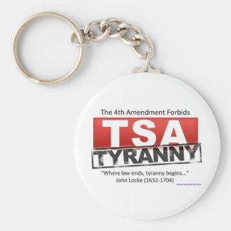 Porte-clés Image de tyrannie de Zazzle TSA