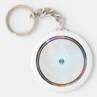 Porte-clés Images du nombre 1 : cercle pointé