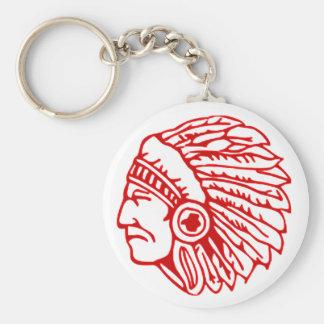 Porte-clés Indien rouge de Peau Rouge