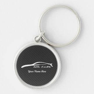 Porte-clés Infiniti G35 Coue avec la fibre de carbone de faux