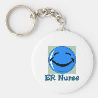 Porte-clés Infirmière d'à haute fréquence ER