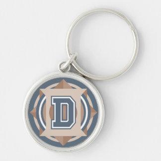 """Porte-clés Initiale de la lettre """"D"""""""