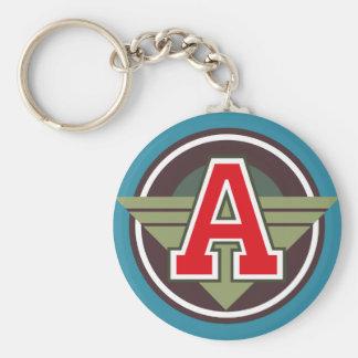 """Porte-clés Initiale faite sur commande de la lettre """"A"""" de"""