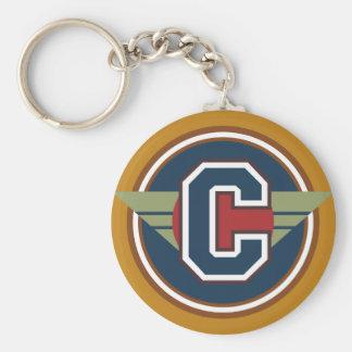 """Porte-clés Initiale faite sur commande de la lettre """"C"""" de"""