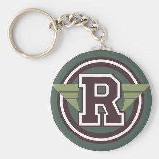 """Porte-clés Initiale faite sur commande de la lettre """"R"""" de"""