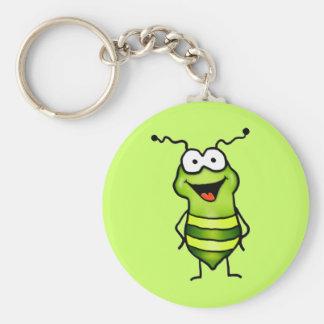 Porte-clés Insecte heureux