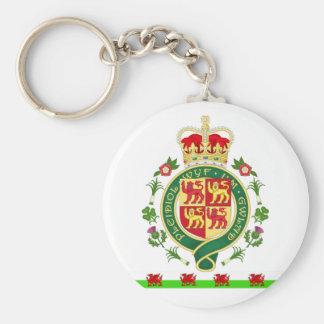 Porte-clés Insigne royal du Pays de Galles