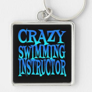 Porte-clés Instructeur fol de natation