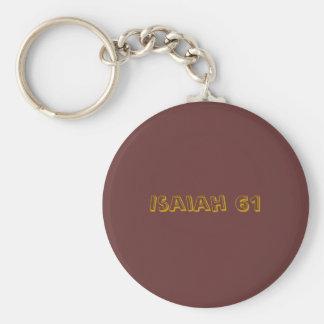 Porte-clés Isaïe 61