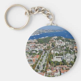 Porte-clés Istanbul - Sultanahmet (porte - clé de bouton)