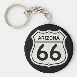 Porte-clés Itinéraire historique 66 de l'Arizona USA