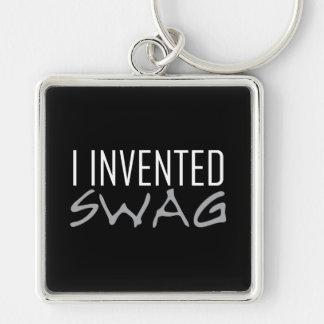 Porte-clés J'ai inventé le gris de butin