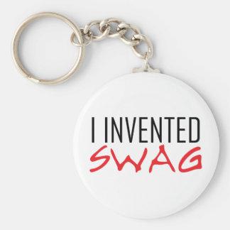 Porte-clés J'ai inventé le rouge de butin